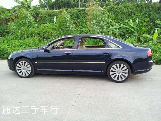 Audi A8 W12 奥迪a8lw12二手车 奥迪a8标配的价格 奥迪a8w12内饰图片 奥迪a8w12多少钱